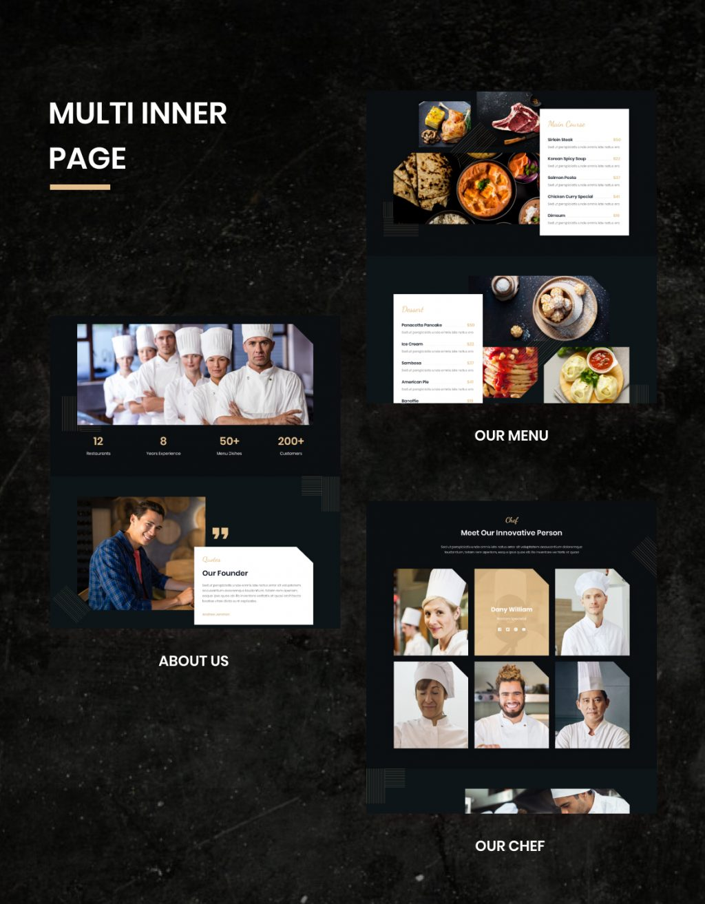 Lezzatos   Restaurant and Cafe for Adobe XD - 2